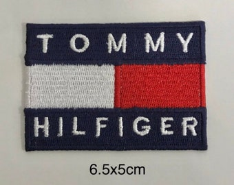 619a00b6a5 Tommy Hilfiger Logo iron sew on Embroidery patch