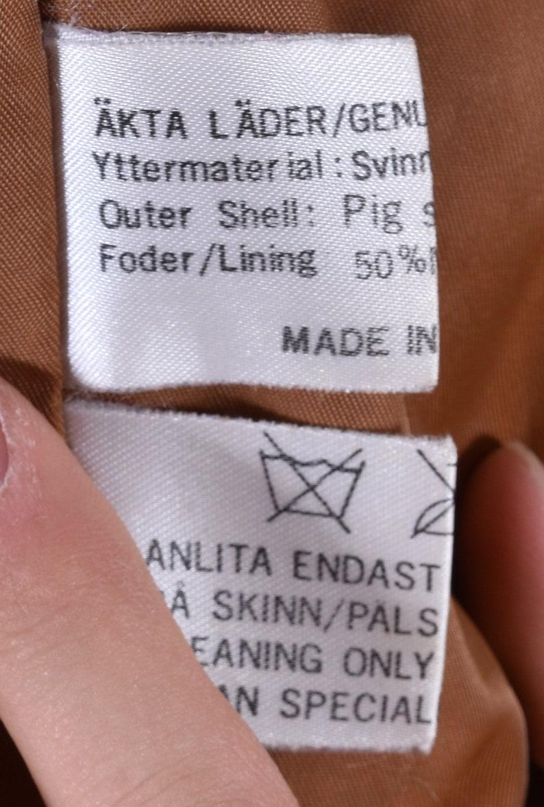 Aztec Navajo Unisex Jacket Suede Leather Short Jacket M