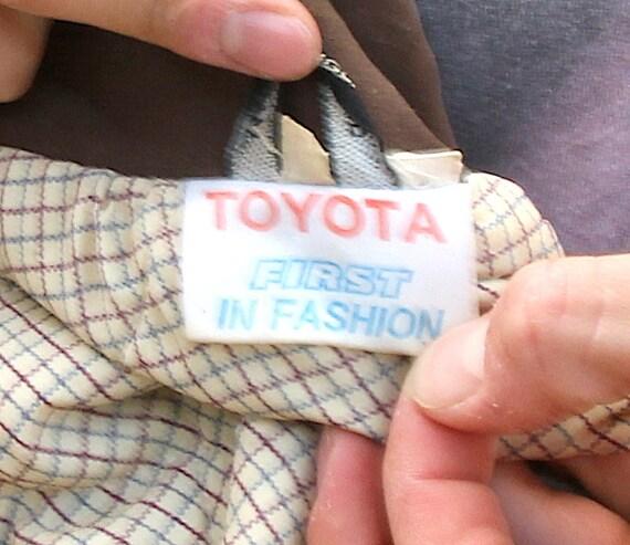 Toyota Auto Original Jacket Oversized Winter Warm… - image 8