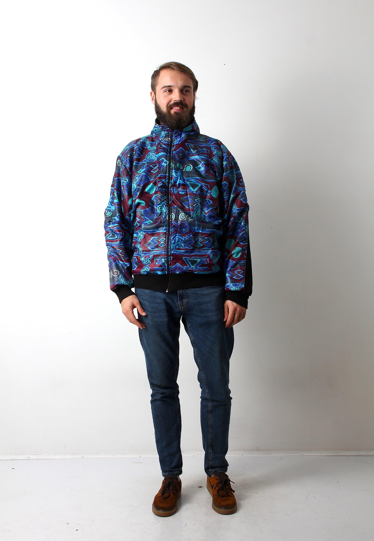 90 ' s s ' psychédélique Hippie veste unisexe manteau Boho 2fae68