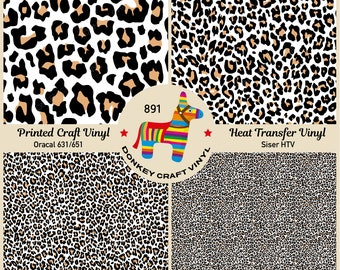 Stardustworkx Leopard Cheetah Snake Pattern Iron on Vinyl Leopard HTV Heat Transfer Vinyl Bundle of 5 Sheets 11.4X9.8 Glitter HTV Printable Heat Transfer Vinyl Print Heat Transfer Paper Cricut