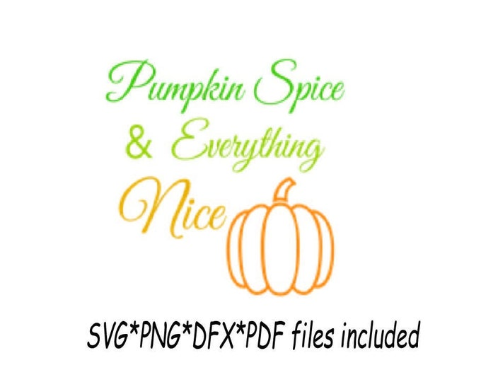 Pumpkin Spice Svg/ Pumpkin Patch download/ Clipart Fall patterns