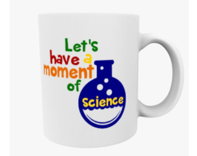 science teacher gift, chemistry gift, funny science mug, professor gift, scientist coffee mug, nerdy mug, science nerd gifts,