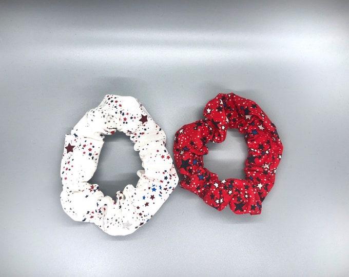 Teen party pack, cheer hair ties, cheer hair ties, cheerleader gift, 4th July accessory