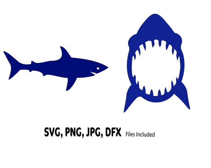 Shark SVG bundle, Shark Week download, Shark Cut File, Shark Bite, shark attack