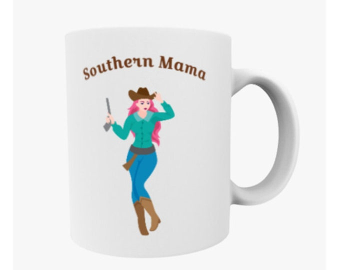 country girl gift, southern mama, southern girl, country girl mug, country kitchen, southern decor, southern girl gift, cowgirl gift