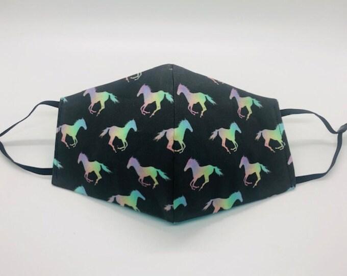 Horse face mask, horses mask, horse lovers gift, pony face mask