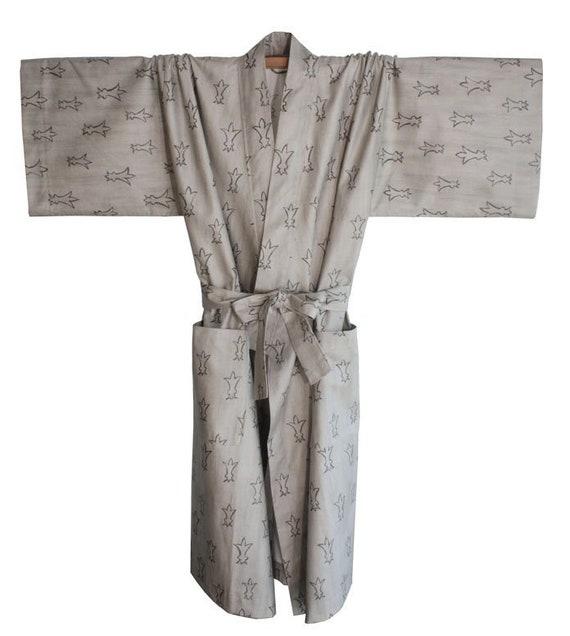 Kimono Lily in Grey Gr L