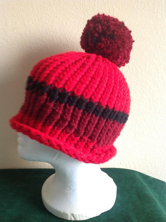 Knitting Loom Hat Etsy