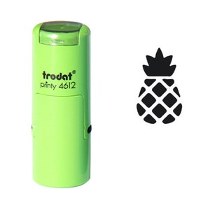 Fruit Stamp Pineapple Rubber Stamp \u03a616mm20mm25mm Rubber Stamp