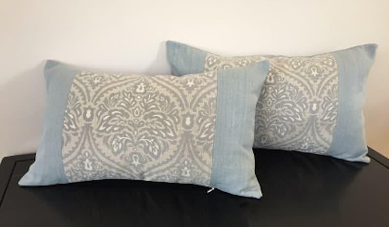 Victoria Blue Cushions,Pale Blue Cushions