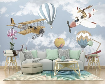 Airplane Wallpaper Etsy