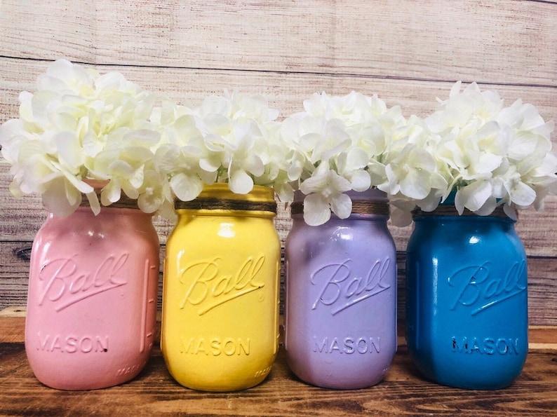 Baby Shower Mason Jars Birthday Party Anniversary Centerpieces Bridal Shower