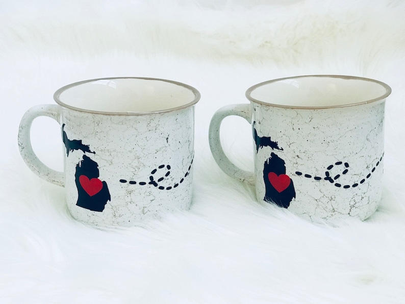 22748b5e3a8 Campfire Mug personalized mug long distance gift | Etsy