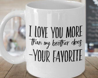 baacc571 Mother's day Gift- Funny Mom Mug- Father's Day Gift- Dad Mug- Sarcastic Gift  for Mom- Mother's Day Gift from Daughter- Your Favorite Kid Mug