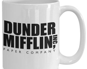 office mug etsy dunder mifflin paper company mug dwight schrute michael scott the office tv show show gifts mug etsy