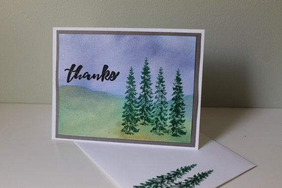 Thank You Cards Thank You Notes Handmade Cards Blank Thank Etsy