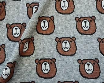 Bär Teddy Flugzeug  Teddybär Bear  Baby Zoom Flying  Baumwolle Patchworkstoff