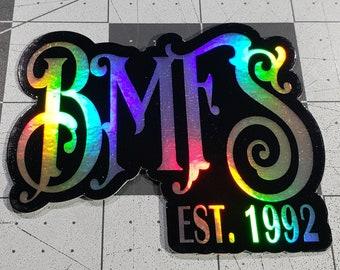 Weather resistant Billy Strings UV resistant Slap On Taking Water BMFS Vinyl Sticker Bumper Sticker