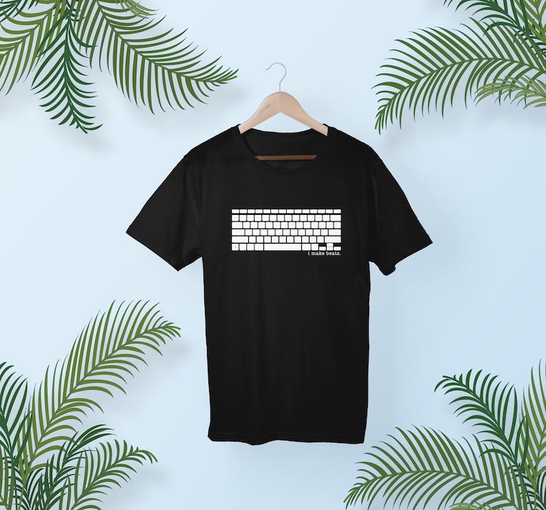 Keyboard T-Shirt  Computer Keyboard Shirt  Graphic Tee  image 0