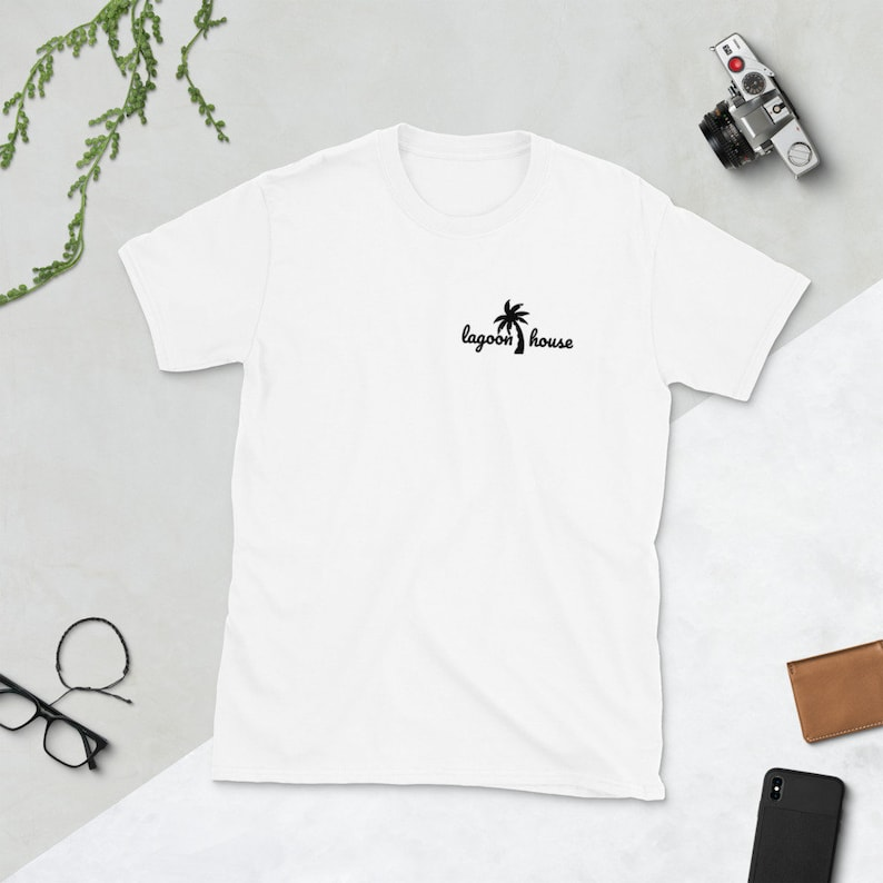 Lagoon House Short-Sleeve T-Shirt image 0