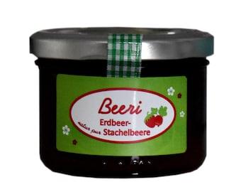 1,91 EUR/100 g Marmelade Erdbeere Stachelbeere