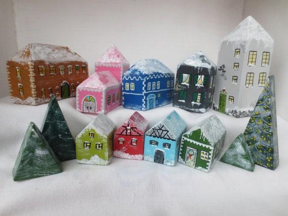Spielzeug Hauser Fur Kinder 12tlg Spielzeug Haus Klein Etsy