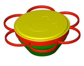 ontop magic bowl, bread tin, magic