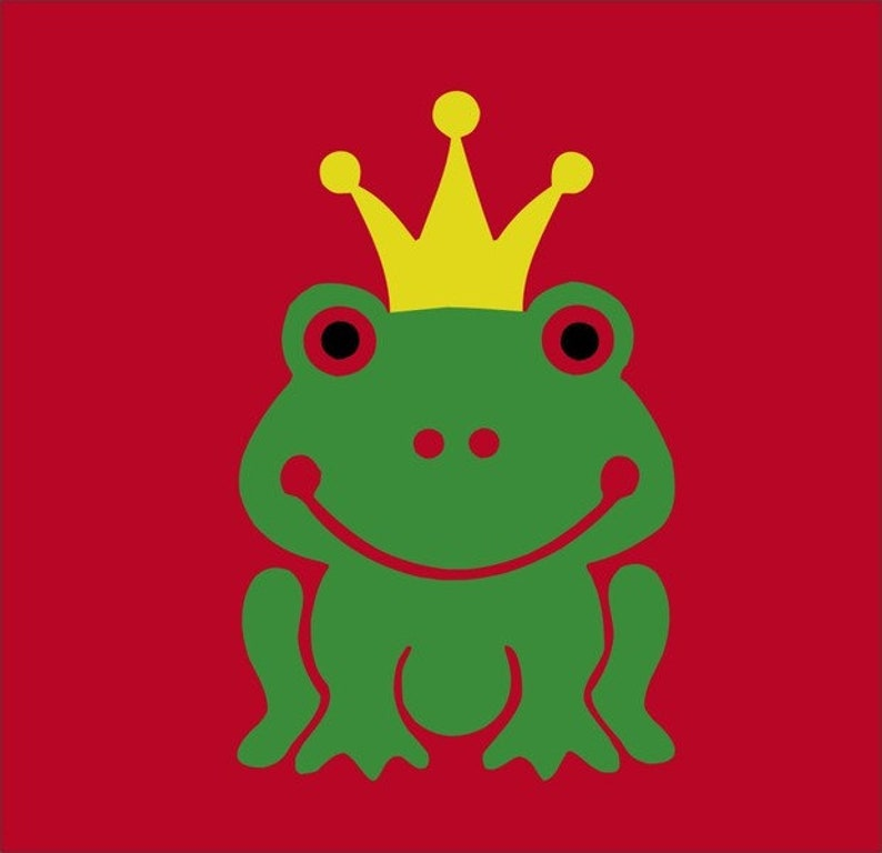 aad4ab9c2072c Frog-King T-shirt L190k Red Green/Yellow