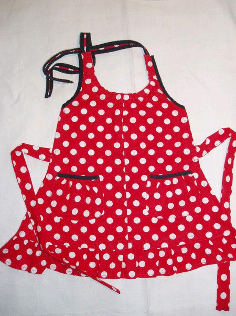 Children/'s apron gr.128overdress