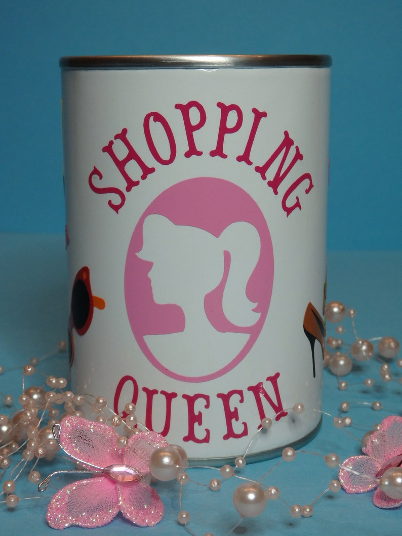 Lustige Spardose Shopping Queen Etsy