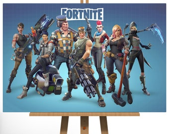 Fortnite Battle Royale Canvas Print   Ready To Hang   Top Quality   Various  Sizes Available   UK Made   Fast Dispatch U0026 Delivery