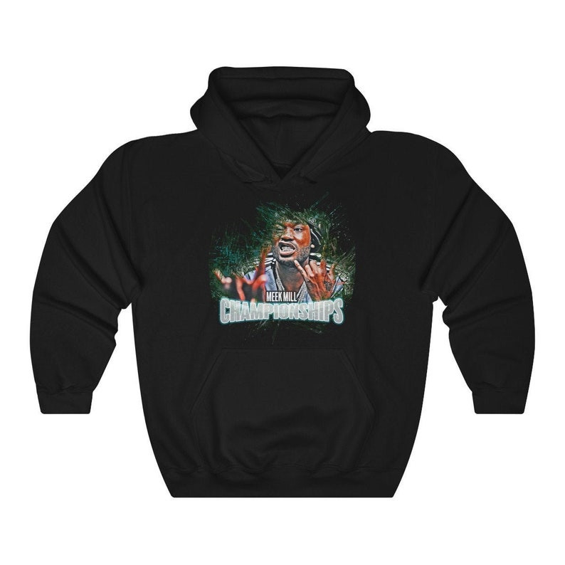 Meek Mill / Championships / Philly / Eagles / Unisex Hooded Black