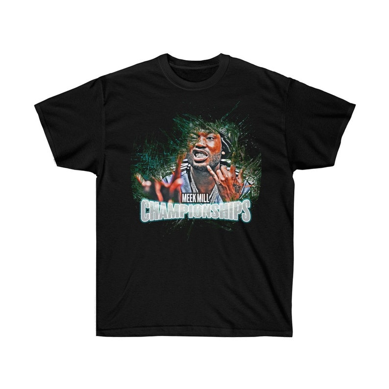 Meek Mill / Championships / Philly / Eagles / Unisex Tee image 0