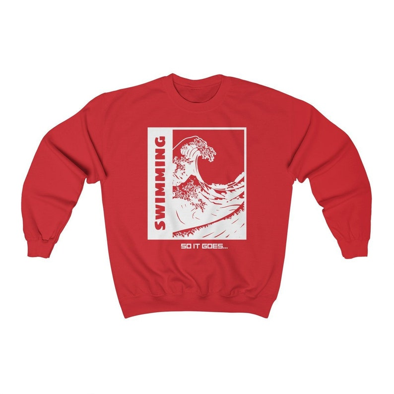Mac Miller Swimming So It Goes Crewneck Sweatshirt image 0