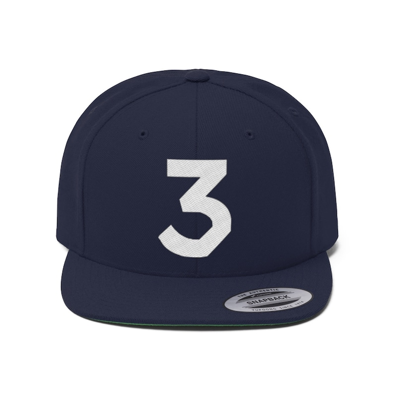 3 Chance Unisex Flat Bill Hat image 0