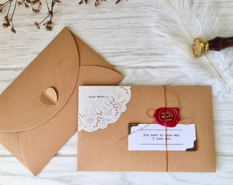 open when letters anniversary gift for him birthday gift long distance relationship gift love letters valentines gift for boyfriend