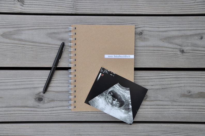 my BabyBellyBook  Pregnancy Diary A5 image 0