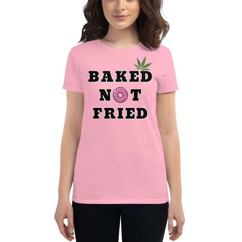 Marijuana Women's Short Sleeve T-shirt with Pot Leaf from image 0