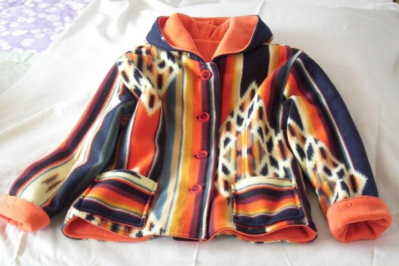 21c428f6f54040 Girl. Jacket folklore | Etsy