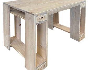 """Pallet furniture: desk """"KALAWAO"""""""