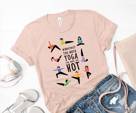 Yoga Gift T-Shirt Namaste Tee Peaceful Warrior Shirt Inspirational Tee Meditation Shirt Yoga Lover Shirt Yoga Shirt