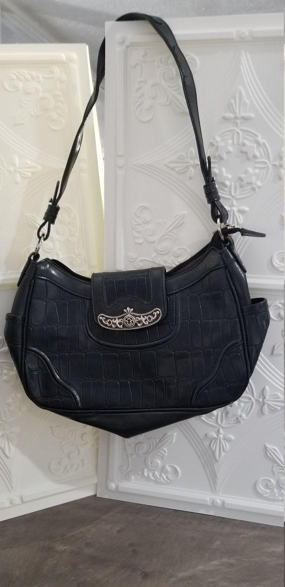 MC Marc Chantal Vegan Black Bag Shoulder Vintage