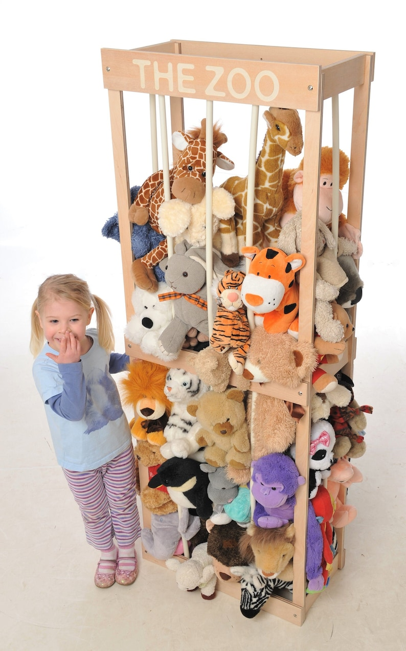 THE ZOO soft toy storage solution image 0