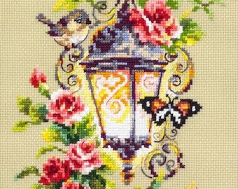 Magic Needle Cross Stitch Kit Guarding your Gift