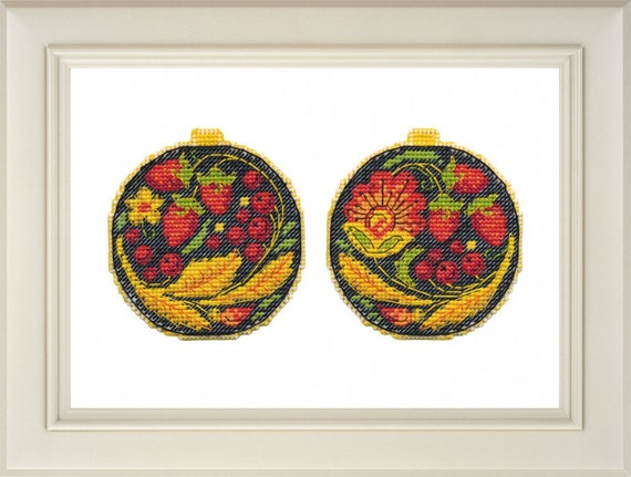 Gift Idea New Mini Counted Cross Stitch on Water Soluble Canvas Hand Embroidery Kit on Clothes Prezis Octavia Butterfly Russian Manufacture