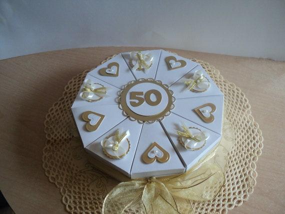 Hochzeitstorte Geldgeschenke Goldene Hochzeit Etsy