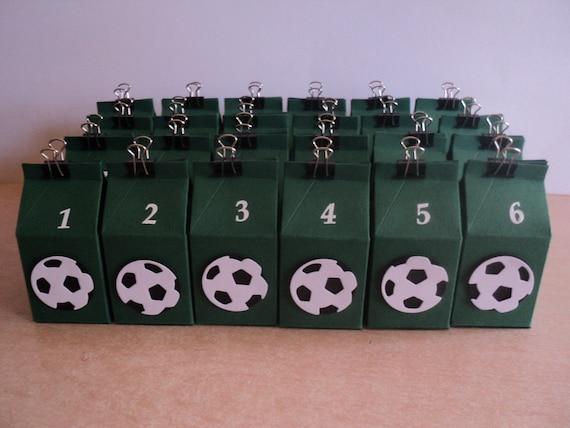 Adventskalender Fussball Kinder Manner Weihnachtskalender Schachteln Milchboxen Zum Befullen Jungen Weihnachen Advent