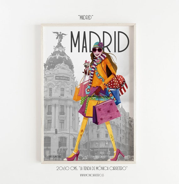 Madrid film. Design by Mónica Carretero.