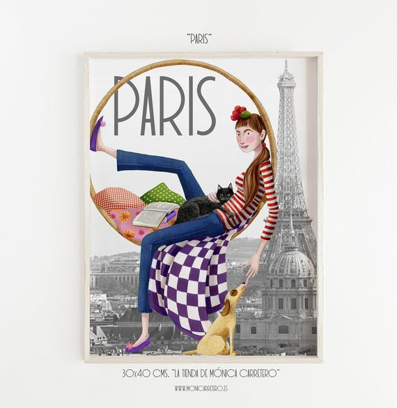 Film Paris. Design by Mónica Carretero.